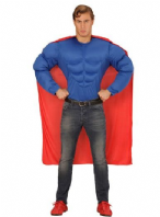 Superhero Muscle Chest Shirt (00624)